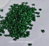 중국 공급자 Fatory 주입 또는 밀어남 또는 한번 불기 필름을%s 최신 판매 녹색 플라스틱 색깔 Masterbatch
