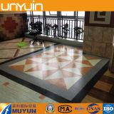 Tablón antirresbaladizo del PVC, suelo de piedra del PVC para las casas