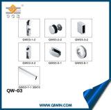 Quadratischer Gefäß-Glas-Dusche-Raum-Installationssatz