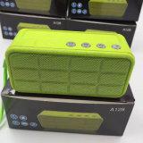 Altofalante portátil do rádio do rádio da textura do Crackle do altofalante quadrado de Bluetooth do cubo