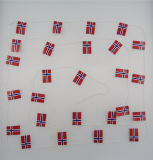 Toothpick incoraggiante personalizzato della bandierina del partito di disegno