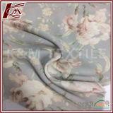 Viskose-Satin-Gewebe des Blumen-Muster-Druck-100%