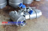 Borboleta Handle Stainless Steel Threaded 2PC Ball Valve