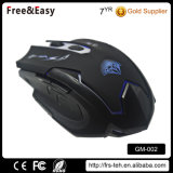 Neues Gaming Mouse mit Colors Breath LED Lights Wired New Gaming
