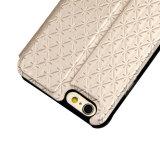 Caja del teléfono móvil del tirón del cuero de la PU para iPhone7