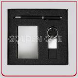 Executivgeschenk-Schlüsselketten-und Kartenhalter-Geschenk-Set