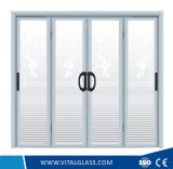 Essentiële Zijde die het Decoratieve Glas van de Kunst met Ce & ISO9001 afdrukken