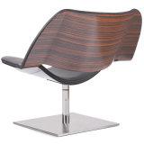 Presidenza di salotto di cuoio di legno di svago della mobilia moderna (K36)