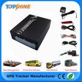 Traqueur multifonctionnel du véhicule GPS de détecteur d'essence d'IDENTIFICATION RF de management de flotte