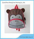 Dos desenhos animados saco 2016 de escola para miúdos com teste padrão do animal do macaco