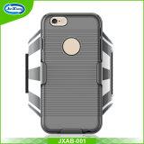 Presente promocional com chave titular Pocket Sport Armband estojo de telefone celular para iPhone 7