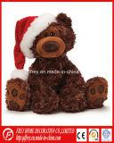 Brinquedo do presente do Natal do luxuoso do Ce de Papai Noel, urso