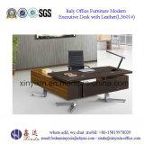L 모양 멜라민에 의하여 박판으로 만들어지는 매니저 테이블 중국 사무용 가구