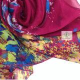 Madame Fashion Silk Scarf d'essuie-main de plage de joker d'écharpes de protection solaire d'été
