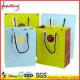 Sacos de empacotamento do plástico/papel com o saco do furo do gancho/punho da compra
