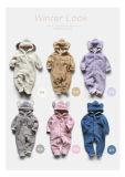Van de Katoenen van het Kruippakje van de baby het Organische Kruippakje Jonge geitjes van de Voering voor de Winter