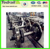 Conjunto de rueda locomotor de carro/rueda de acero del tren para la venta
