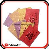 Pacote vermelho do envelope feito sob encomenda do casamento em Guangzhou