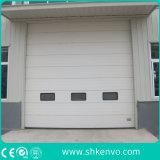 自動電気モーターを備えられた産業熱絶縁されたオーバーヘッド部門別の倉庫のガレージのドア