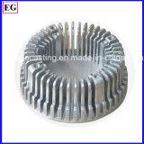 알루미늄 주물 LED 열 싱크 단추 덮개 부속을 정지하십시오