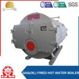 産業2.1MW-0.7MPaはエネルギーガスおよび石油燃焼の熱湯ボイラーを保存する