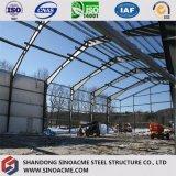 Construction commerciale de cadre de porte préfabriqué pour le centre de sports