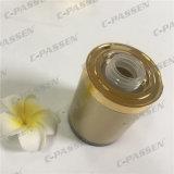 tarro poner crema privado de aire de acrílico del oro de lujo 30g para el empaquetado del cuidado de piel (PPC-ARCJ-011)