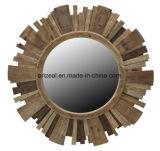 Espelho ornamentado da decoração Home com a madeira quadro