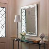 Ovale Zilveren Spiegel met het Onderzoek En1036, ons van België Inv Hilemn Goedgekeurde Atst D3359, SGS het Rapport van de Test