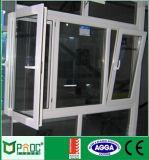 Neues Entwurfs-Baumaterial-Neigung-Drehung-Fenster mit ausgeglichenem Glas