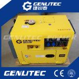 Gerador de soldador de diesel silencioso de 5Ww de duplo uso