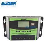 Suoer 12V 30A intelligenter Vollmacht- zur Belastung des Anlagevermögenssolarcontroller mit doppelter USB-Schnittstelle (ST-C1230)