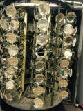 De beschikbare Plastic Zilveren Machine van de Deklaag van de Lepel/van de Vork PVD/Plastic Vacuüm het Metalliseren van het Bestek Installatie/de Installatie van de VacuümDeklaag