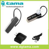 Cuffia avricolare senza fili di Bluetooth con il cavo dell'adattatore del caricatore e del caricatore del USB