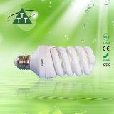 O halogênio espiral cheio energy-saving da lâmpada 40W/misturou/2700k-7500k Tri-Color E27/B22 220-240V
