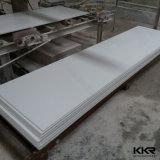 Folha de superfície contínua acrílica da laje grande de pedra artificial do material de construção