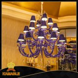 Luxury Golden Rose lampadario per Hotel