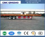 Cimc 2半車軸40FT平面のトレーラー