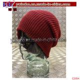 Beanie marcado Headwear do chapéu do inverno da porta do tampão de relógio Mens acrílico (C2055)