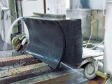 Serra de fio de diamante CNC para processamento de blocos de pedra