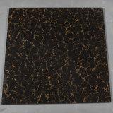 Le double de matériau de construction chargeant Pulati jaune noir a poli prix vitrifié par tuile de carrelage de porcelaine le bon
