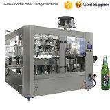 3 automatiques dans 1 machine de remplissage de bière de bouteille en verre
