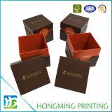 Contenitore di vigilanza di carta di goffratura del regalo di marchio su ordinazione
