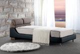 Base moderna por atacado do couro da mobília do quarto para a venda