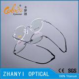 Blocco per grafici di titanio senza orlo leggero di vetro ottici di Eyewear del monocolo con la cerniera (8509-C1)