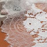Spitze-Ordnungs-Blumen-Ordnungs-Spitze-billig dekorative weiße Häkelarbeit-Spitze-Ordnung hergestellt in China