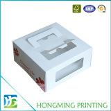 Diseño de papel de lujo del rectángulo de torta de la cartulina