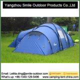 Dois de luxe adultos barraca de acampamento grande nivelada da família de 2 quartos