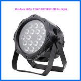 DMX512 IP65 Nachtclub NENNWERT 18PCS*12W Audios-Licht