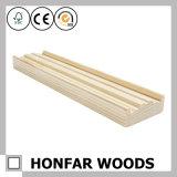 Ligne de courroie de moulage de tête décorative en bois de plafond pour l'intérieur